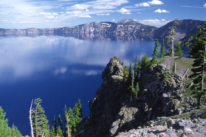 Spiegelung im Crater Lake / OR