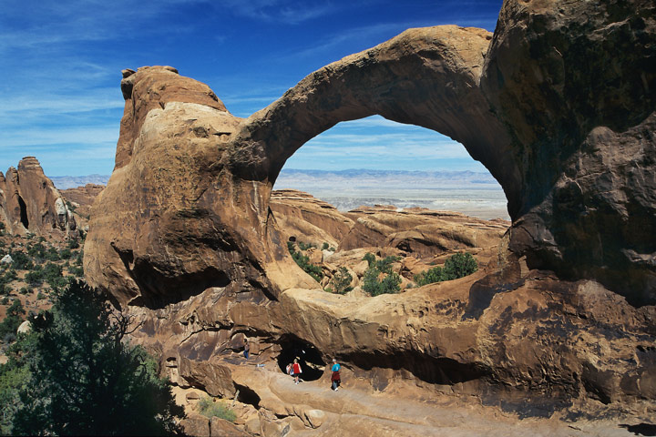 Double O Arch, Arches N.P. / UT