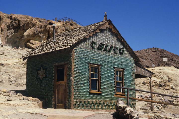 """Bottle House"", Calico Ghost Town / CA"