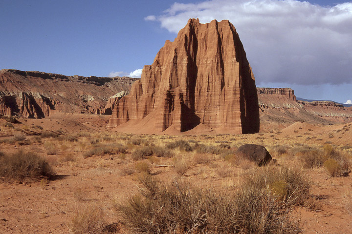 Cathedral Valley, Temple of the Sun / UT