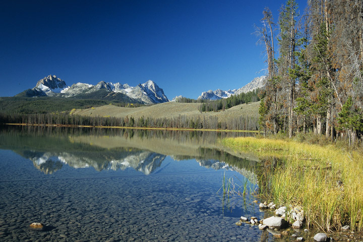 Little Redfish Lake, Sawtooth NRA / ID