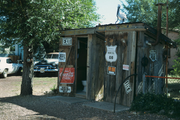 Historic Route 66 in Seligman / AZ