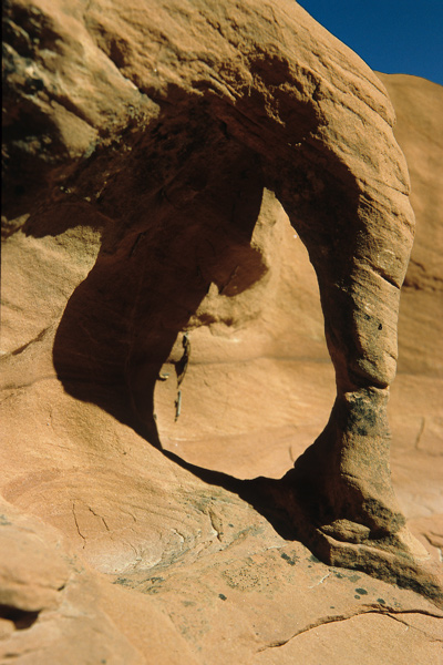 Arch im Crack Canyon / UT