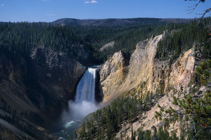 Lower Falls of the Yellowstone River, Yellowstone N.P. / WY