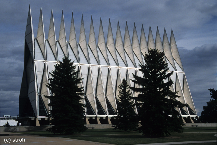 Air Force Academy Chapel, Colorado Springs / CO