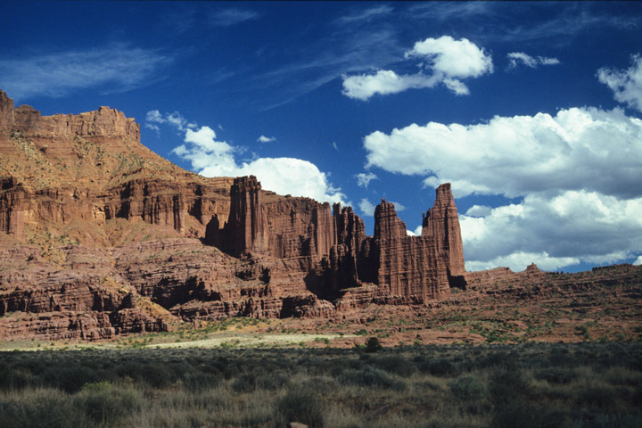 Moab Area, Fisher Towers