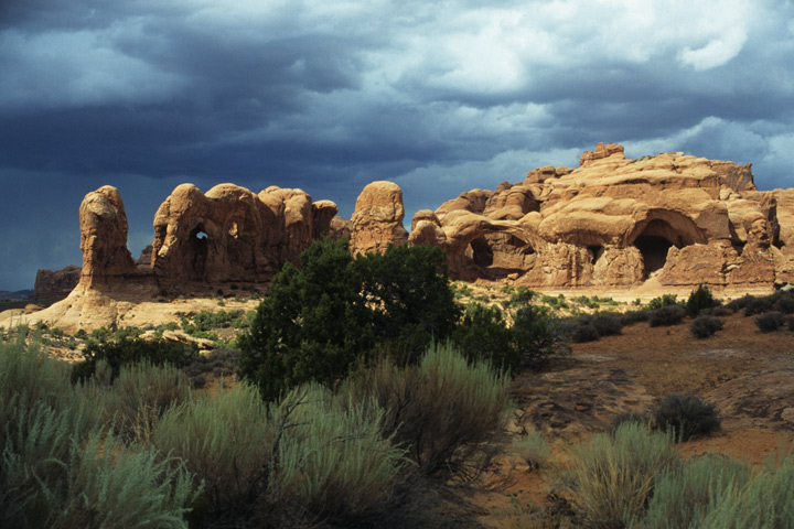 Moab Area, Arches N.P.