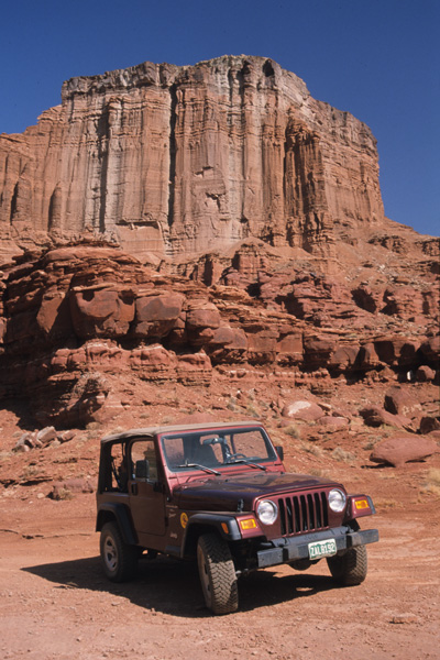 Moab Area, Anticline Overlook vom Jeep Trail aus