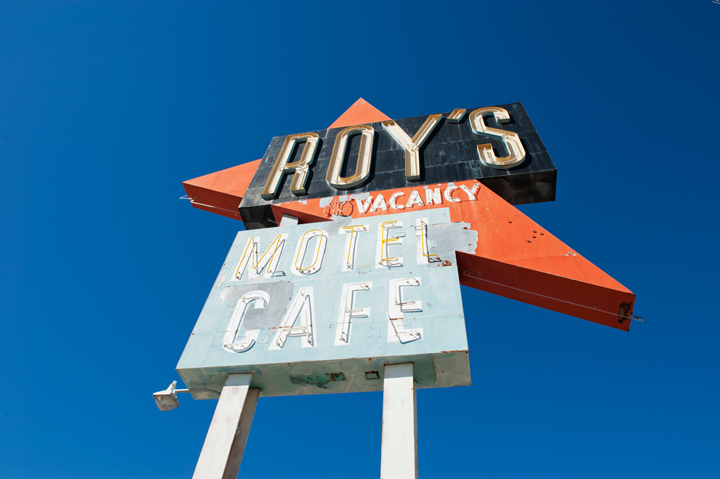 legendary Roy's Motel & Cafe, Amboy / CA