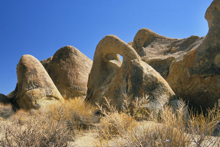 alabama hills, one mile arch